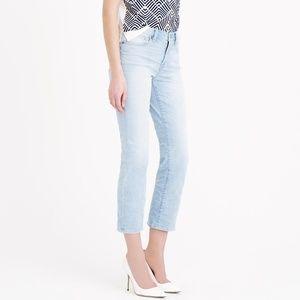 J. Crew vintage cropped jeans SIZE 24